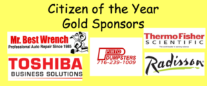 Gold Sponsors for 52nd Citizen of the Year Awards Dinner