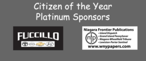 Platinum Sponsors for 52nd Citizen of the Year Awards Dinner